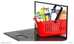 Foto: Shopping Basket on Notebook
