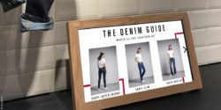 "Photo: screen with so called ""Denim Guide""; copyright: iq! Studios"
