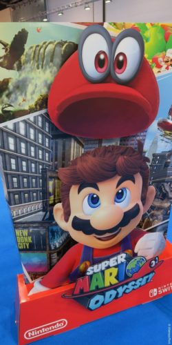 Photo: Sales display with Super Mario; copyright: iXtenso/Pott