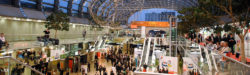 Photo: trade fair foyer