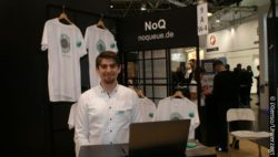 Photo: NoQ at EuroCIS ; copyright: iXtenso/Unverzagt