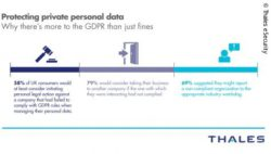 Infographics: How consumers feel about actions against businesses that don't protect their personal data; copyright: Thales eSecurity