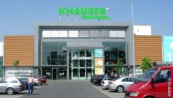 Photo: entrance of the branch in Pulheim; copright: Knauber
