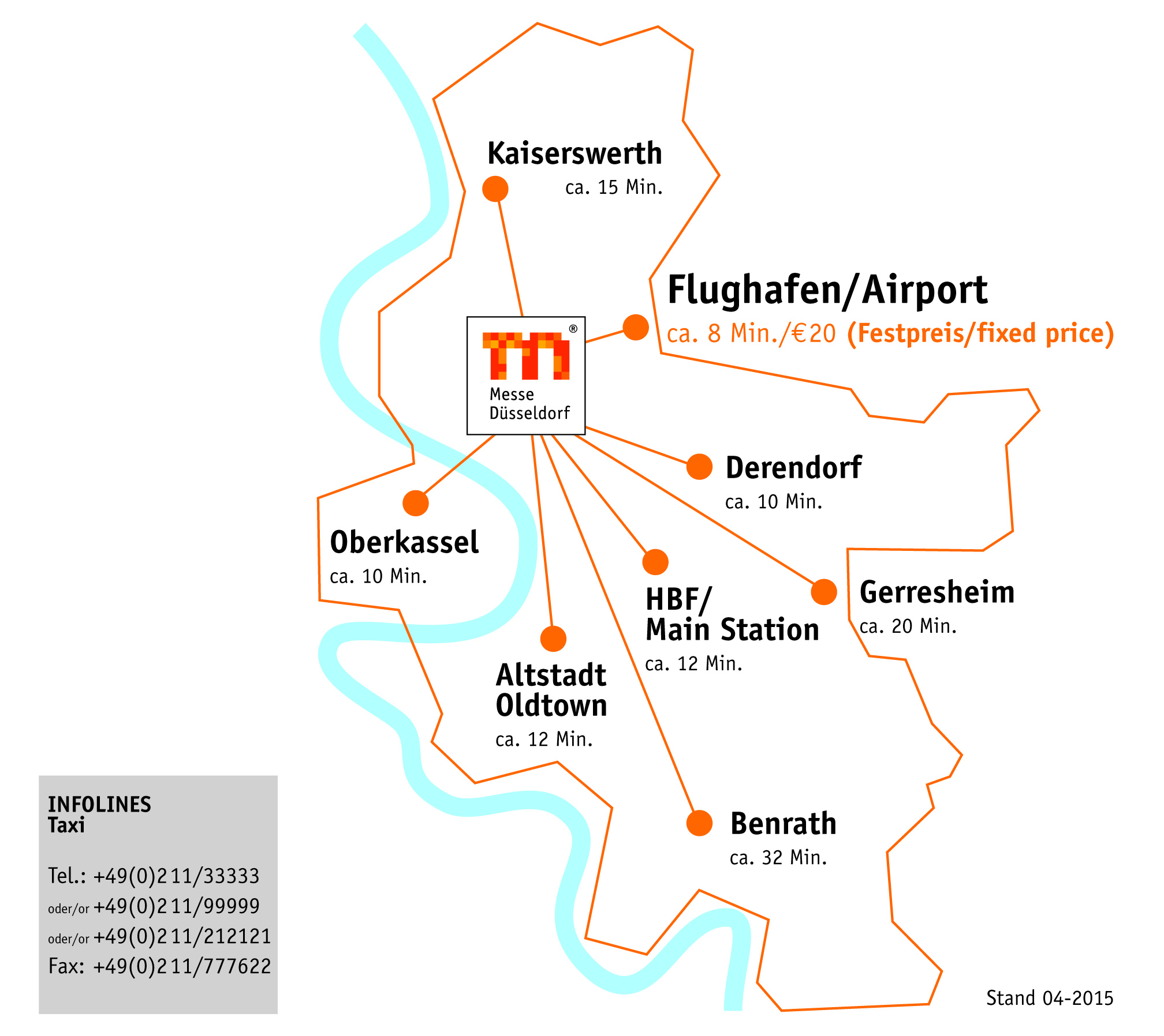 Travelling & Hotel -- EuroCIS Messe on dusseldorf subway map, old town dusseldorf map, dusseldorf rail map,